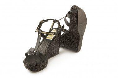 High wedge heel platform...