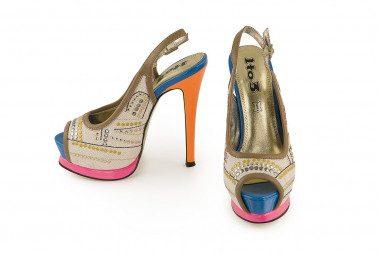 High heel and platform...