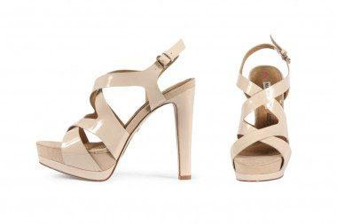 High heel platform sandal...