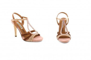 High heel t-bar sandal...