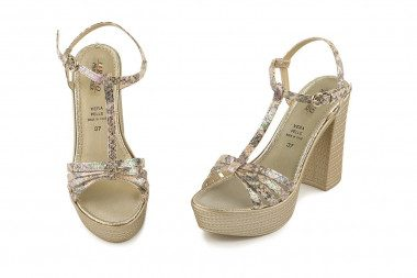 High heel sandal Phil Gatier
