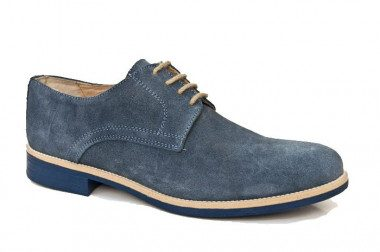 English style suede shoe...