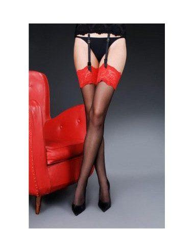 Suspender belt stockings...
