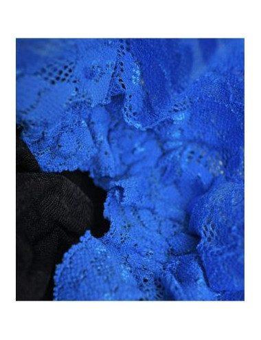 Calza autoreggente bicolore Cervin Madonna Nude 1979