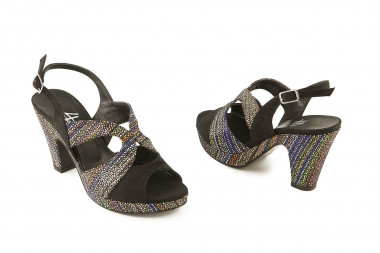Slingback and comfy heel...