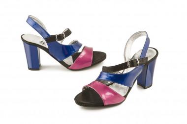 Heeled and coloured...