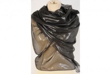 Elegant shiny scarf stole 4...
