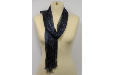 Mesh scarf stole with...