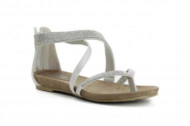 Rhinestone thong sandal...