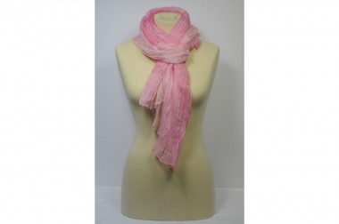 Shaded pure silk scarf 4 Passi