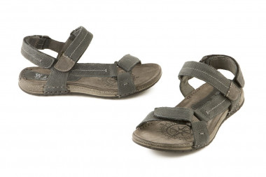 Velcro leather sandal Walk...