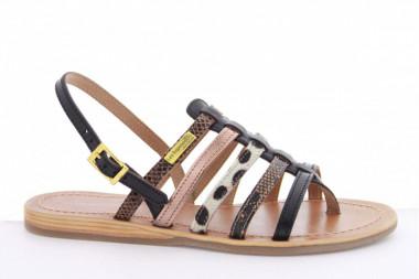 Flat post-toe sandal Les...