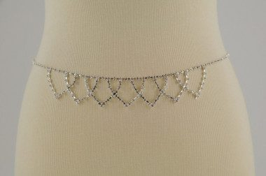 Jeweled belt with...