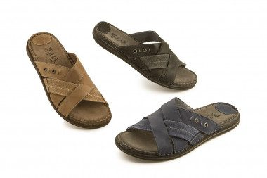 Criss cross slide sandal...