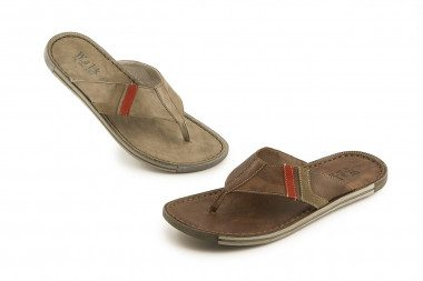 Soft leather thong sandal...