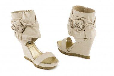 High wedge sandal Roberta Farc