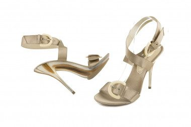 Stiletto sandal Golden Party