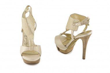 Lamè sandal Golden Party
