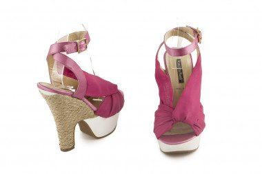 Rope heel sandal Roberta Farc