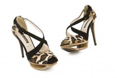 Stiletto heel sandal...