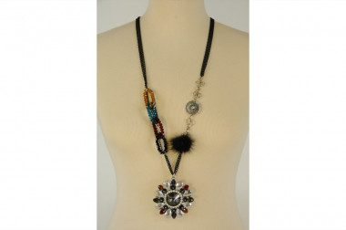 Multicolor necklace with...