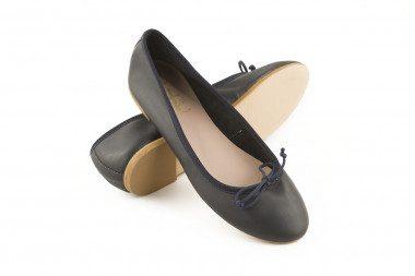 Bow calfskin ballet flat 4...