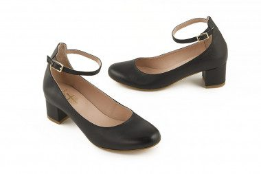 Mary Jane style leather...