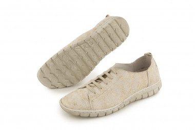 Metallic lace-up shoe Walk...