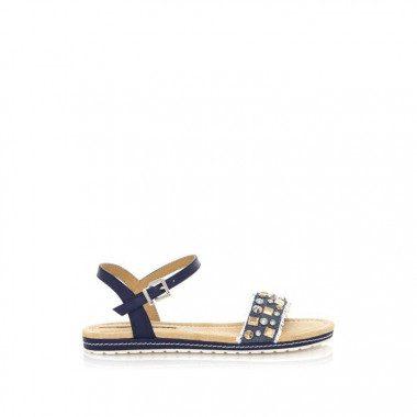 Fabric jeans sandal Maria Mare