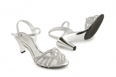 Evening rhinestone sandal...