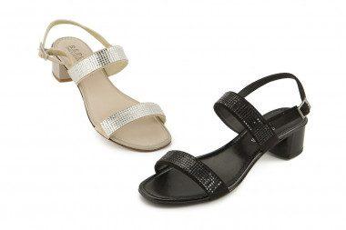 Block heel elegant sandal...
