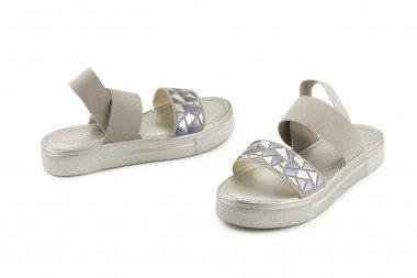 Sandalo basso elasticizzato...