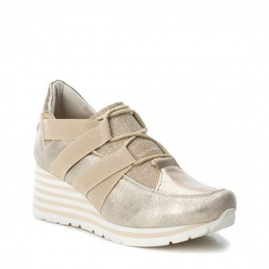 Lace-up sneakers with mid...