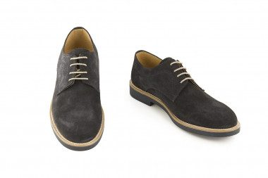 Men's suede shoe 4 Passi