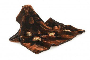 Stola sciarpa in vellutino Passigatti