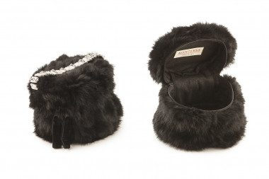 Small rabbit fur handbag...