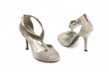 T-bar high heel sandal...