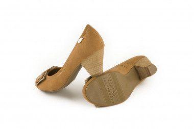 Mid heel bow pump Xti